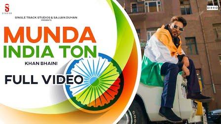 Munda India Ton Lyrics Khan Bhaini
