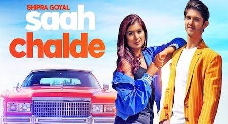 Saah Chalde Lyrics Shipra Goyal | Rohan Mehra