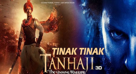 Tinak Tinak Lyrics Tanhaji | Harshdeep Kaur