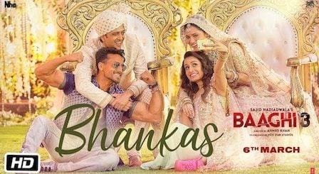 Bhankas Lyrics Baaghi 3