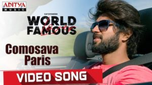Comosava Paris Lyrics World Famous Lover