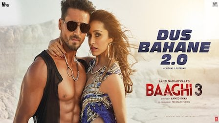 Dus Bahane 2.0 Lyrics Baaghi 3