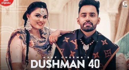 Dushman 40 Lyrics Harf Cheema | Gurlez Akhtar
