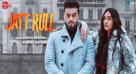 Jatt Rule Lyrics Aarsh Benipal | Gurlez Akhtar