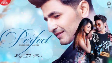Perfect Lyrics Mann Dhami | Nikk