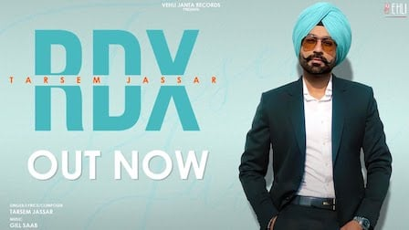 RDX Lyrics Tarsem Jassar