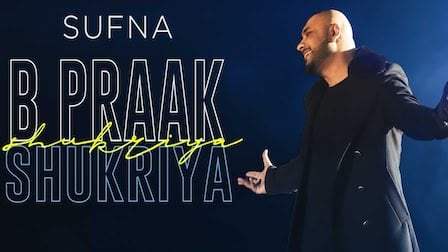 Shukriya Lyrics Sufna | B Praak
