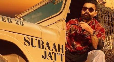 Subaah Jatt Da Lyrics Amrit Maan
