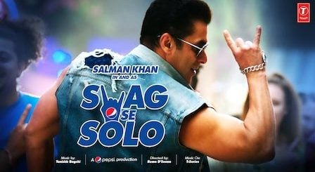 SWAG SE SOLO LYRICS Salman Khan | Sachet Tandon
