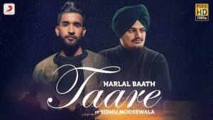 Taare Lyrics Harlal Batth x Sidhu Moosewala