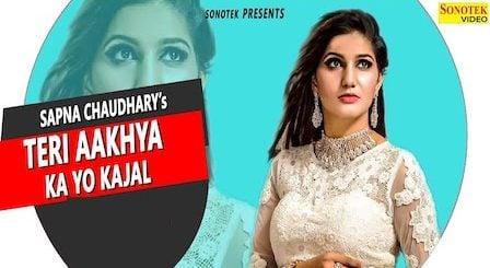 Teri Aakhya Ka Yo Kajal Lyrics Sapna Choudhary