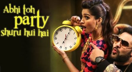 Abhi Toh Party Shuru Hui Hai Lyrics Khoobsurat | Badshah