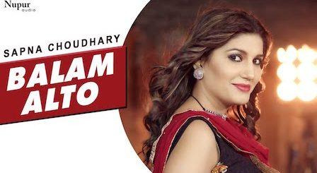 Balam Alto Lyrics Sapna Choudhary | Vandana Jangir