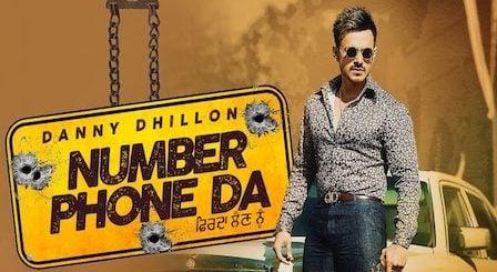 Number Phone Da Lyrics Danny Dhillon | Ankita Maliya