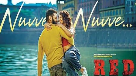 Nuvve Nuvve Lyrics Red | Ramya Behara