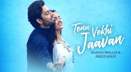Tenu Vekhi Jaavan Lyrics Shahid Mallya | Asees Kaur