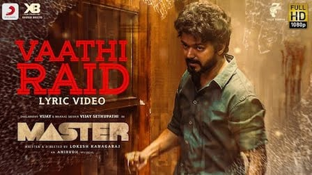 Vaathi Raid Lyrics Master | Thalapathy Vijay
