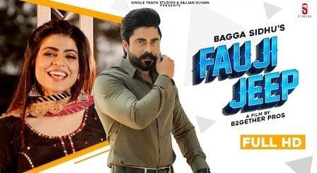 Fauji Jeep Lyrics Bagga Sidhu | Gurlez Akhtar x Mahi Sharma