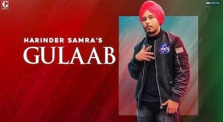 Gulaab Lyrics Harinder Samra