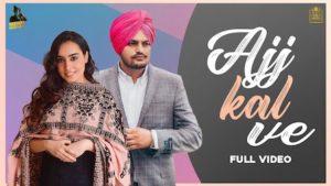 Aaj Kal Ve Lyrics by Sidhu Moose Wala