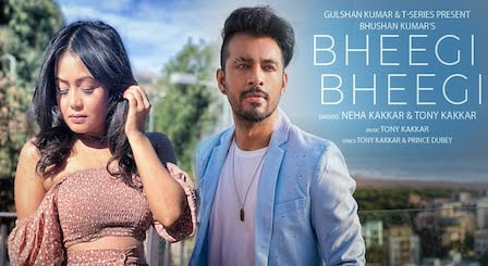 Bheegi Bheegi Lyrics by Neha Kakkar | Tony Kakkar भीगी भीगी