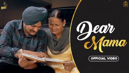 Dear Mama Lyrics Sidhu Moose Wala