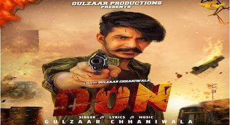 Don Lyrics by Gulzaar Chhaniwala