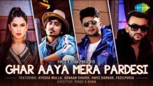 Ghar Aaya Mera Pardesi Lyrics by Fazilpuria, Jyotica Tangri