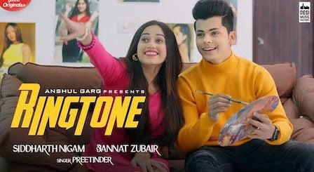 Ringtone Lyrics Preetinder | Jannat Zubair