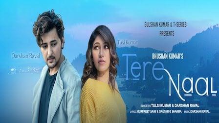 Tere Naal Lyrics Darshan Raval | Tulsi Kumar