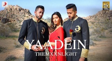 Yaadein Lyrics by Themxxnlight