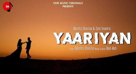 Yaariyan Lyrics by Mamta Sharma