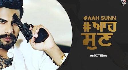 Aah Sunn Lyrics by Singga