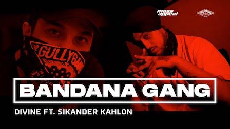 Bandana Gang Lyrics by Divine | Sikander Kahlon