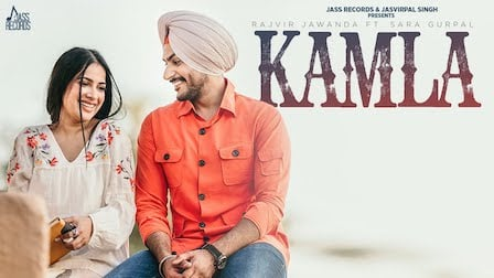 Kamla Lyrics by Rajvir Jawanda