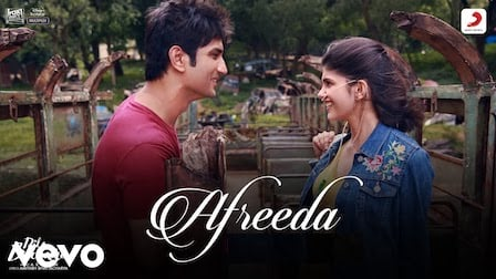 Afreeda Lyrics Dil Bechara | Raja Kumari, Sanaa Moussa