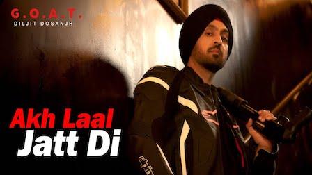 Akh Laal Jatt Di Lyrics Diljit Dosanjh