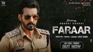 Faraar Lyrics Anuraj Chahal