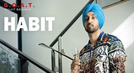 Habit Lyrics Diljit Dosanjh