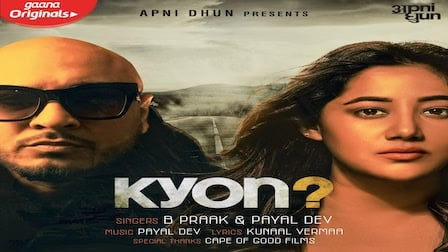 Kyon Lyrics B Praak x Payal Dev
