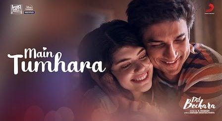 Main Tumhara Lyrics Dil Bechara | Jonita Gandhi