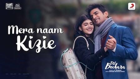 Mera Naam Kizie Lyrics Dil Bechara