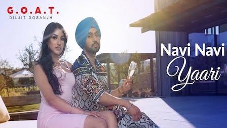 Navi Navi Yaari Lyrics Diljit Dosanjh