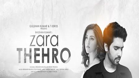 Zara Thehro Lyrics Armaan Malik x Tulsi Kumar