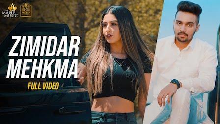 Zimidar Mehkma Lyrics – Maninder Dhaliwal - songlyricslive.com