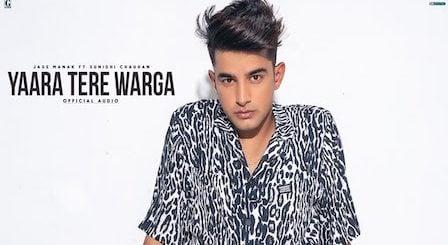 Yaara Tere Warga Lyrics Jass Manak | Sunidhi Chauhan