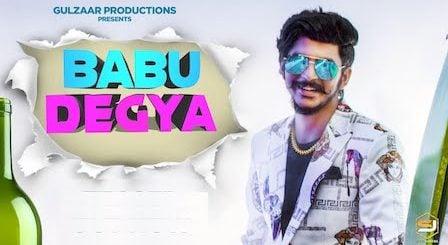 Babu Degya Lyrics Gulzaar Chhaniwala