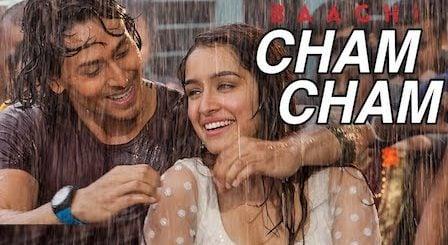 Cham Cham Lyrics Baaghi | Meet Bros x Monali Thakur