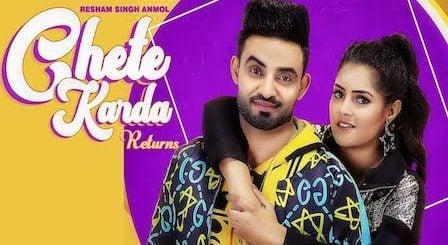 Chete Karda Returns Lyrics Resham Singh Anmol