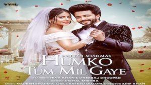 Humko Tum Mil Gaye Lyrics Vishal Mishra